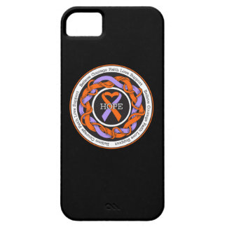 Eczema and Psoriasis Hope Intertwined Ribbon iPhone 5 Cover