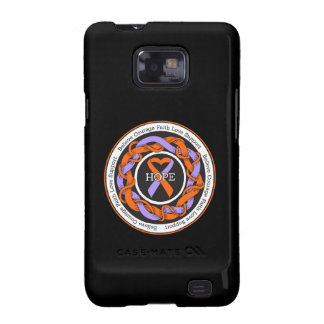 Eczema and Psoriasis Hope Intertwined Ribbon Galaxy SII Case