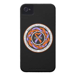 Eczema and Psoriasis Hope Intertwined Ribbon Case-Mate iPhone 4 Case