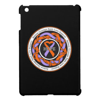 Eczema and Psoriasis Hope Intertwined Ribbon iPad Mini Cover