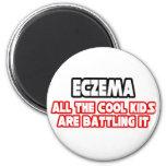 Eczema...Cool Kids Fridge Magnet
