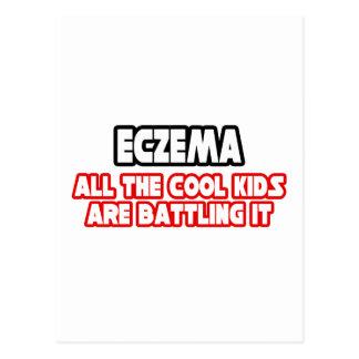 Eczema...Cool Kids Postcard