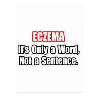 Eczema...Not a Sentence Postcard