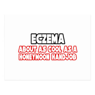 Eczema...Not Cool Postcard