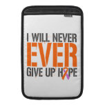 Eczema Psoriasis I Will Never Ever Give Up Hop MacBook Sleeves