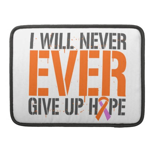 Eczema Psoriasis I Will Never Ever Give Up Hop MacBook Pro Sleeve