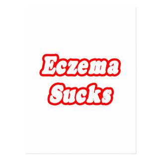 Eczema Sucks Postcard