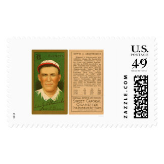 Ed Abbaticchio Boston Baseball 1911 Stamp