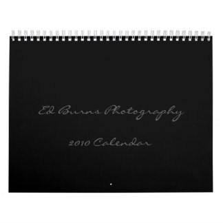 Ed Burns Photography, 2010 Calendar