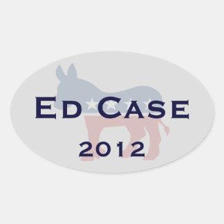 Ed Case for U.S. Senate sticker