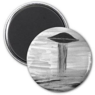 Ed del libro del grayscale de la pintura VISION-D8 Imán Redondo 5 Cm