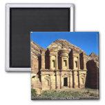 'Ed-Deu', temple, Petra, Jordan Magnet