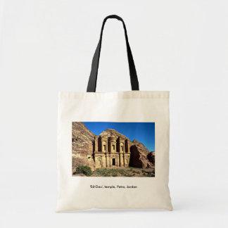 """Ed-Deu"", templo, Petra, Jordania Bolsas De Mano"