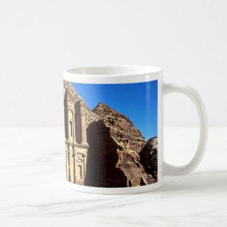 """""""Ed-Deu"""", templo, Petra, Jordania Taza Clásica"""