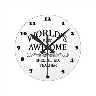 Ed especial más impresionante del mundo. Profesor Reloj Redondo Mediano