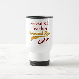Ed especial. Profesor accionado por el café Taza De Viaje