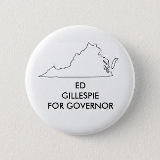 Ed Gillespie for Virginia Governor 2017 Pinback Button