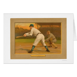 Ed Lennox Brooklyn Baseball 1911 Card