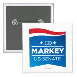 Ed Markey for Senator button