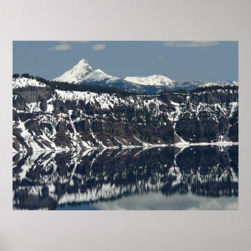 Ed Sutton - reflexión del lago Posters