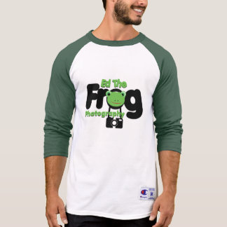 Ed the Frog Photography Logo Two tone T-Shirt