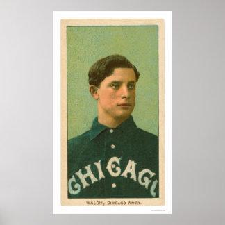 Ed Walsh Baseball Card 1909 Posters