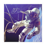Ed White First American Spacewalker Photograph Stretched Canvas Prints