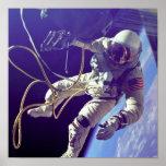 Ed White First American Spacewalker Photograph Print