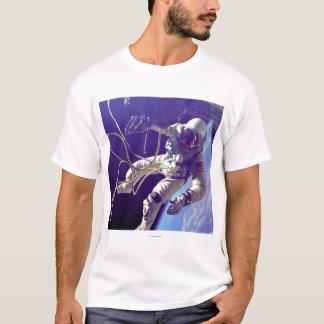 Ed White First American Spacewalker Photograph T-Shirt