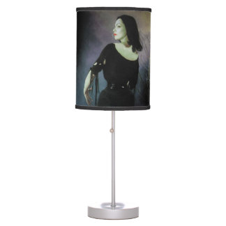 Ed Wood Plan 9 From Outer Space Vampira Lamp