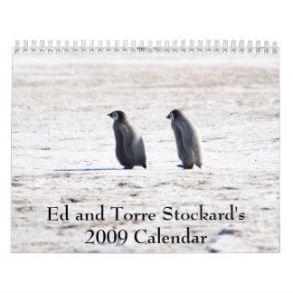 Ed y Torre Stocka… - Modificado para requisitos Calendario De Pared