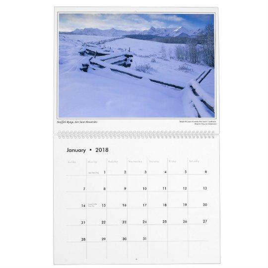 Ed Yoensky's Colorado Calendar