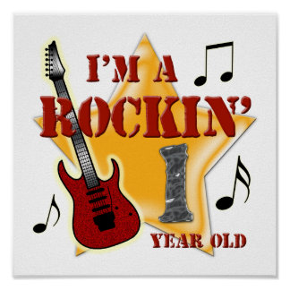 Edad 1 de Rockin Posters
