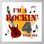 Edad 4 de Rockin Posters