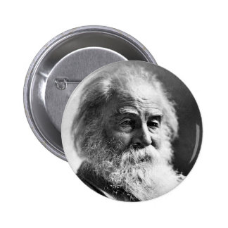 Edad 59 Pinback de Walt Whitman del poeta Pin Redondo De 2 Pulgadas