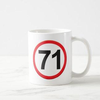 Edad 71 taza
