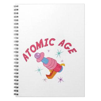 Edad atómica libreta