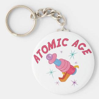 Edad atómica llavero personalizado