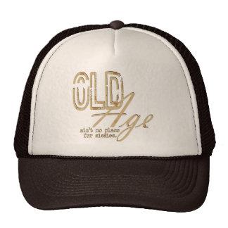 Edad avanzada - gorra
