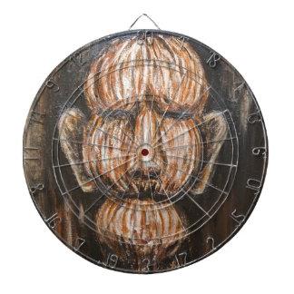 Edad avanzada monumental (retrato surrealista del  tabla dardos