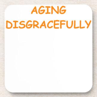 edad avanzada posavasos
