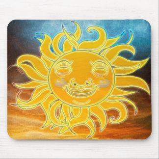 Edad de Celetial Sun de la sol nueva Tapete De Ratones
