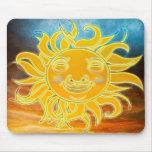 Edad de Celetial Sun de la sol nueva Tapetes De Raton