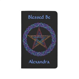 Edad del Pentagram colorido de Z nueva Cuadernos