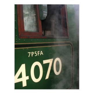 Edad del vapor 3 postal