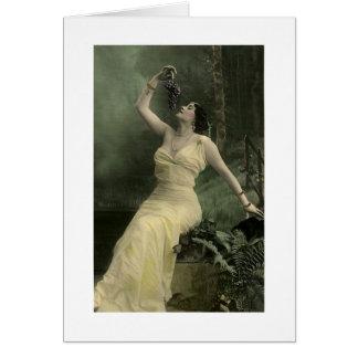 Edad del vino tarjetas