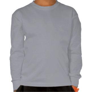 Edad larga 10-11 de la camiseta de la manga de poleras