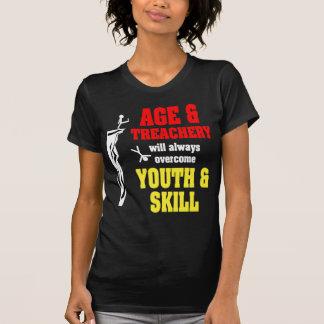 Edad y traición camiseta