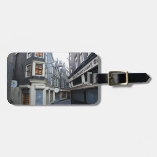 Edam cheeses in Amsterdam alley Luggage Tag
