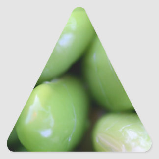Edamames Triangle Sticker